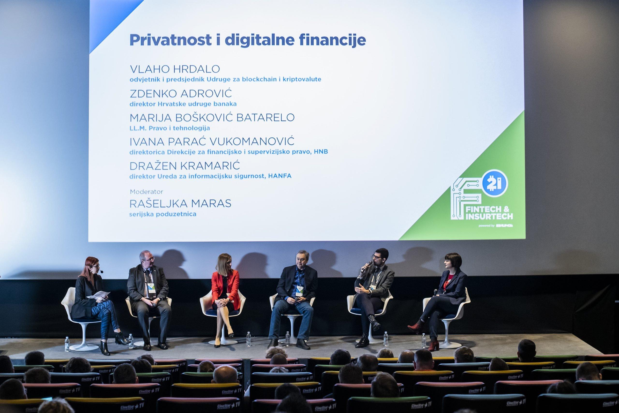 Panel - Privatnost i digitalne financije