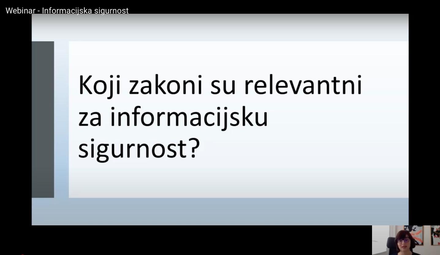 webinar - informacijska sigurnost